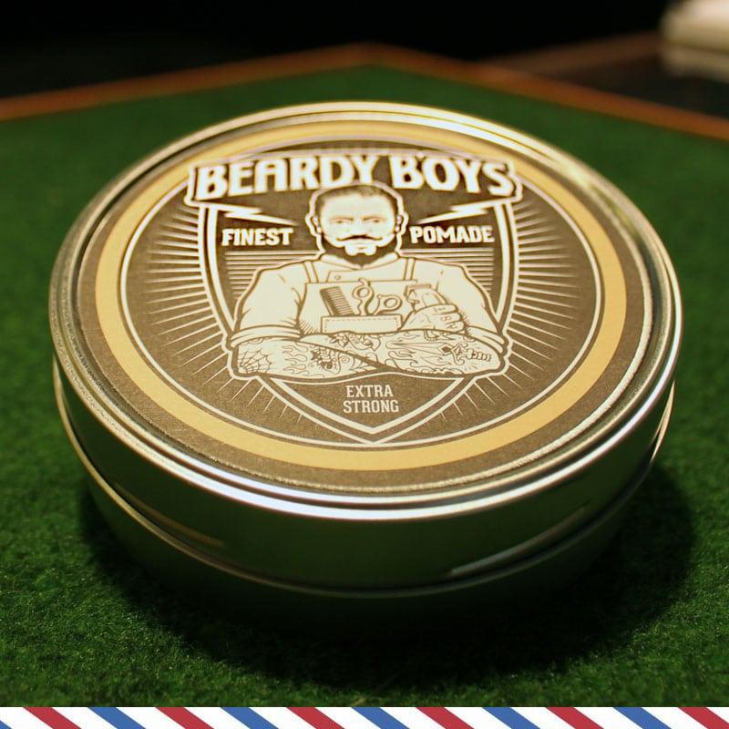 Beardy Boys Pomade Strong