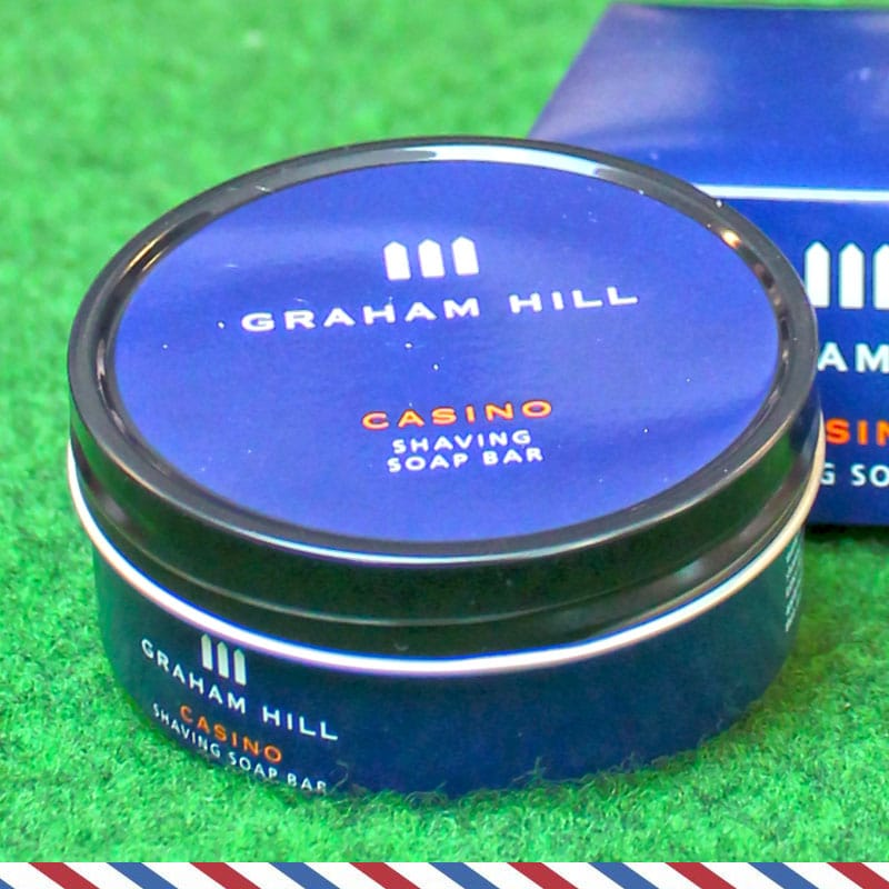 graham hill casino shaving soap bar beardy boys berlin. Black Bedroom Furniture Sets. Home Design Ideas