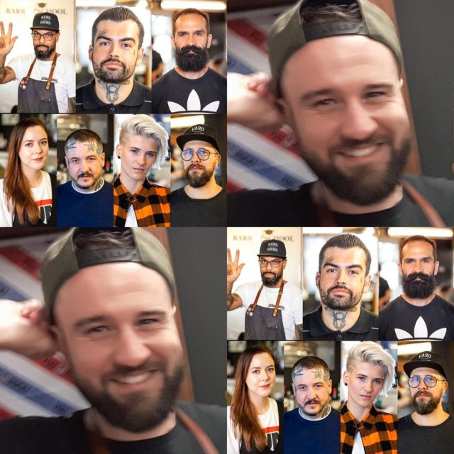 Best Team ever!! Wieder komplett, weil Simon (Michi) ist back!!#BeardyBoys#ThefuckingBest#OldschoolBarber#Berlin#Beardlove#Grooming#Classic#Barbermob#BarberschoolBerlin#Roadrunners#Race61#Barbier#Fade#BestInBerlin#Berlin#Friseur#Herrenfriseur#Bart#Bier&Bike#Whiskey#Mann#Haar#