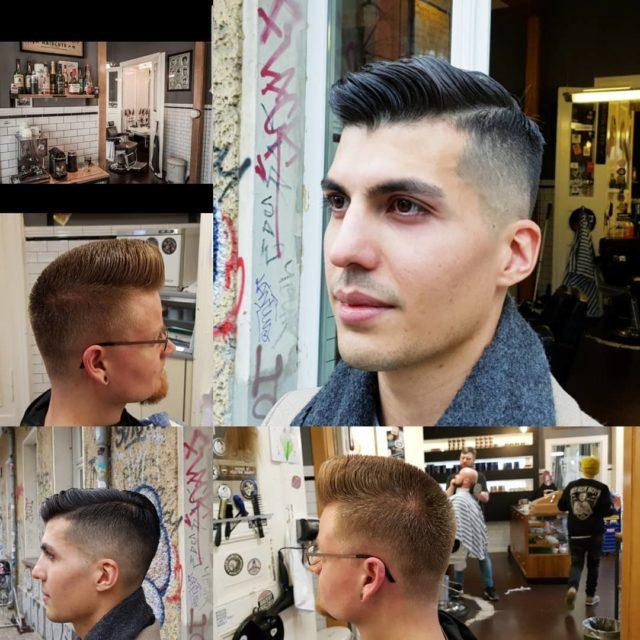 Work by Sylvio...#BeardyBoys#ThefuckingBest#OldschoolBarber#Berlin#Beardlove#Grooming#Classic#Barbermob#BarberschoolBerlin#Roadrunners#Race61#Barbier#Fade#BestInBerlin#Berlin#Friseur#herrenfriseur